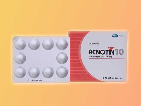 Thuốc trị mụn: Acnotin 10
