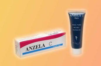 Thuốc trị sẹo: Anzela C