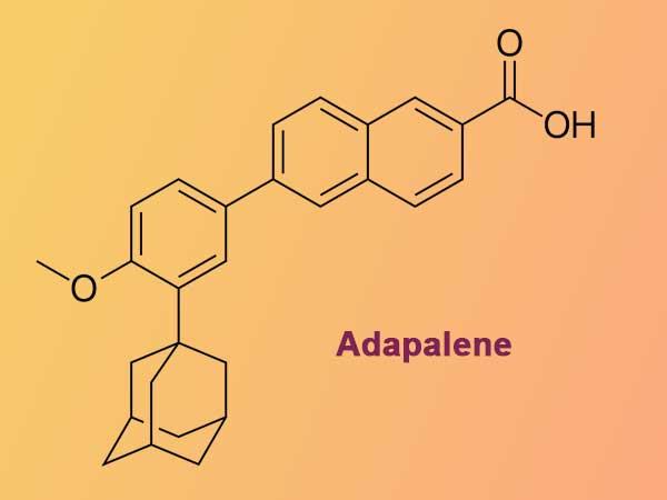Adapalene - Thành phần có trong Klenzit C