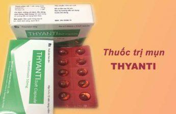 Thuốc trị mụn: Thyanti