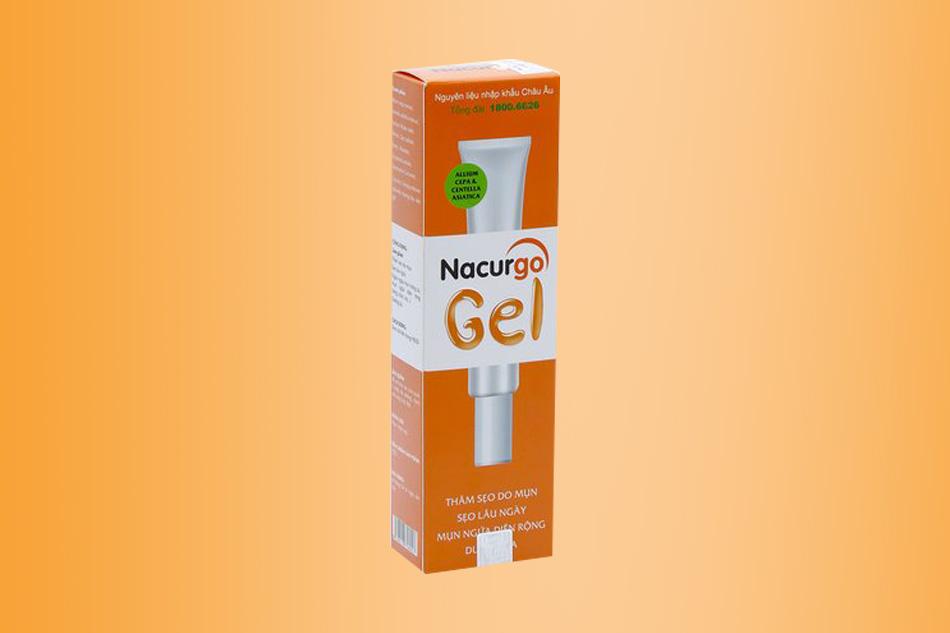 Hình ảnh hộp Nacurgo Gel